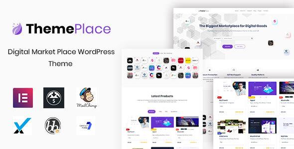 ThemePlace - Marketplace WordPress Theme