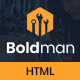 Boldman - Handyman Renovation Services HTML Template - ThemeForest Item for Sale