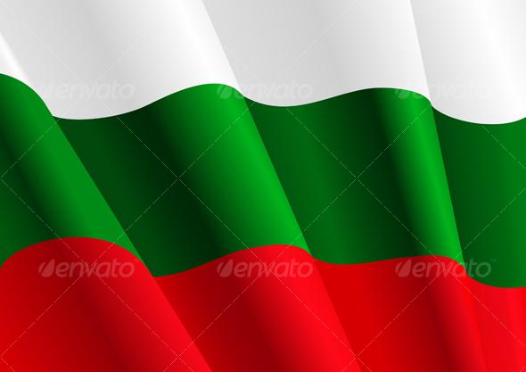 Flag of Bulgaria - Decorative Vectors