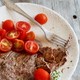 Thin slice of Grilled Machete Steak or Skirt Steak - PhotoDune Item for Sale