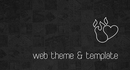 Web Theme & Template