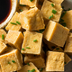 Homemade Asian Fried Tofu Cubes - PhotoDune Item for Sale
