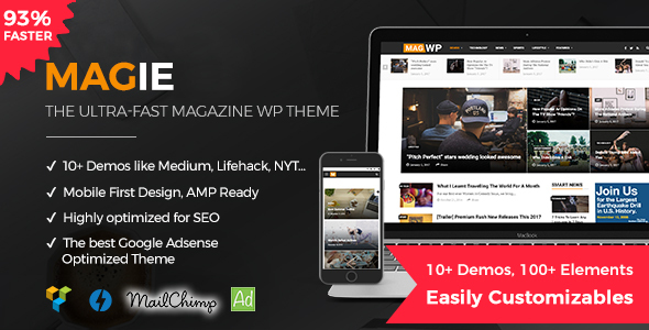 Magie | Magazine WordPress Theme