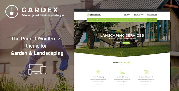 Gardex | Landscaping & Gardening WordPress Theme