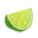 Slice of lime isolated on white background - PhotoDune Item for Sale