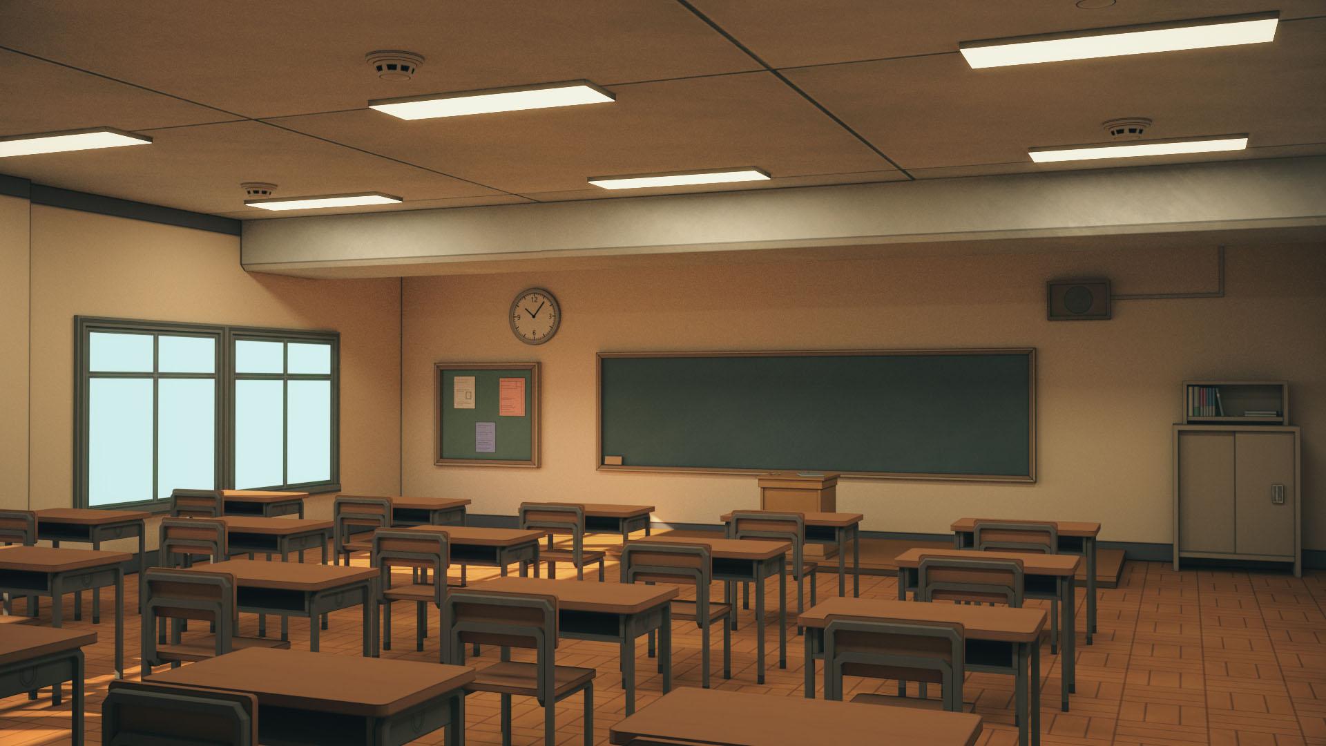 Class #113 Anime_Classroom_01_d