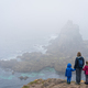 Family admiring landscape of the Lands End - PhotoDune Item for Sale