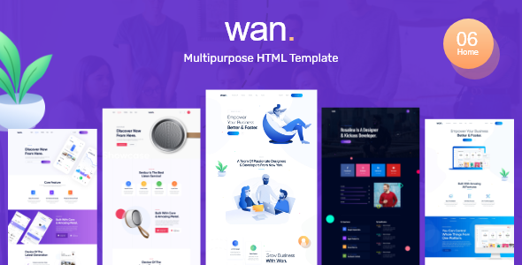 Wan - Creative Business Agency by QuomodoTheme