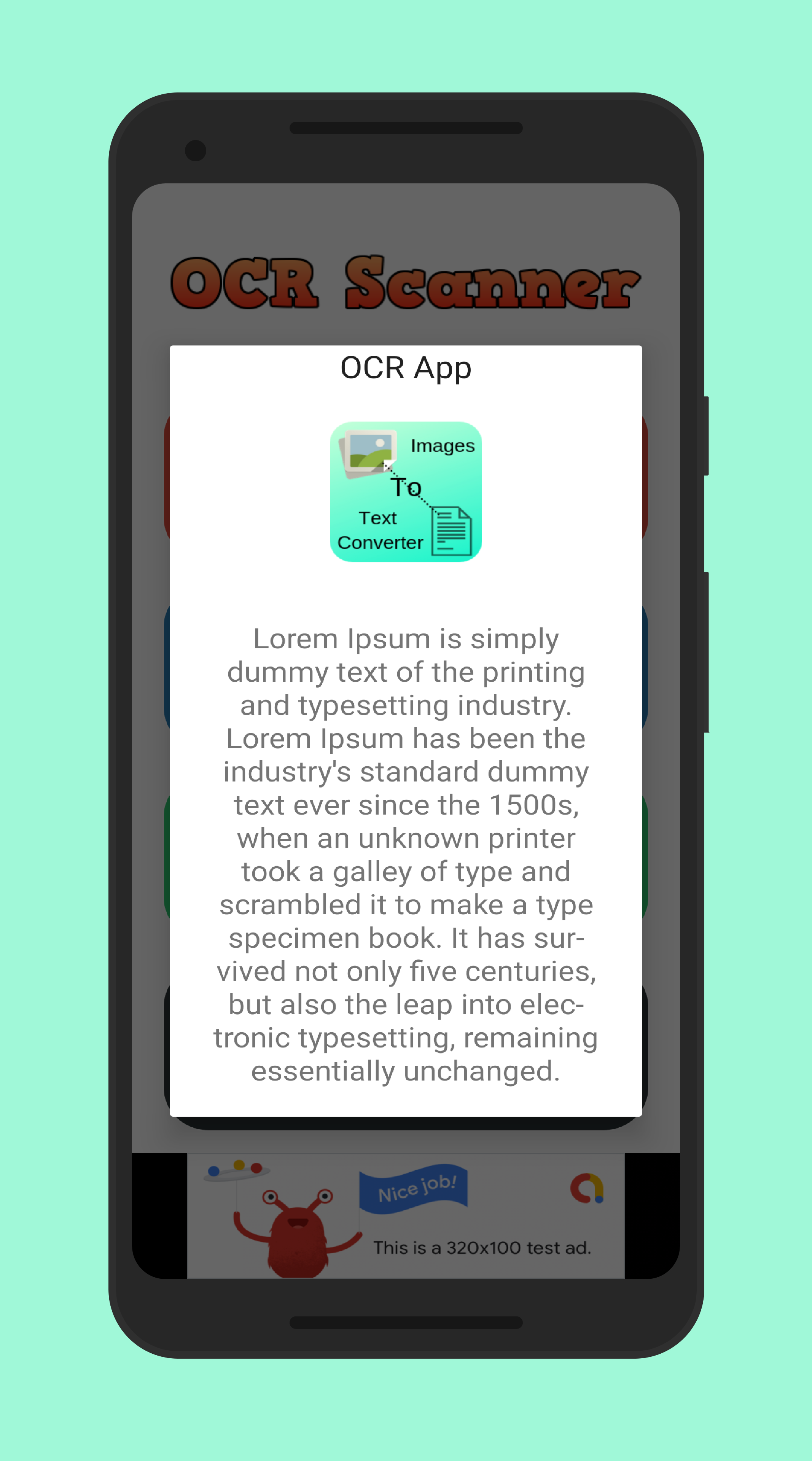OCR Scanner - Image to Text Recognition Android App