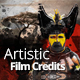 Artistic Film Credits - VideoHive Item for Sale