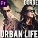 Urban Life (Premiere Pro) - VideoHive Item for Sale