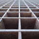 Closeup image of a metal pattern with rust and a shallow depth of field - PhotoDune Item for Sale