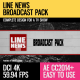 Line News (Broadcast Pack) - VideoHive Item for Sale