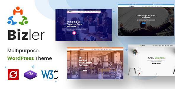 Bizler | Business Agency WordPress Theme