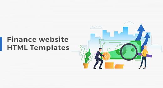 Finance Website HTML Templates