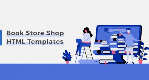 Book Store Shop HTML Templates