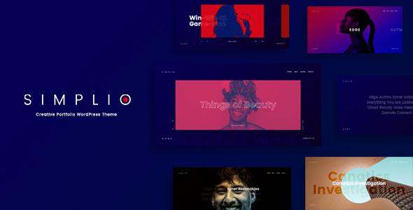 Simplio - Creative Portfolio WordPress Theme