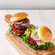 Homemade hamburgers with beef - PhotoDune Item for Sale
