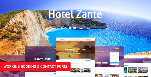 Zante - Hotel Template by Eagle-Themes