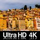 4K Time Lapse of the Picturesque Old Town of Menton France - VideoHive Item for Sale