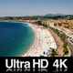 4K Time-lapse Aerial View of Nice France - VideoHive Item for Sale