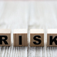 The word risk made of wooden cubes - PhotoDune Item for Sale