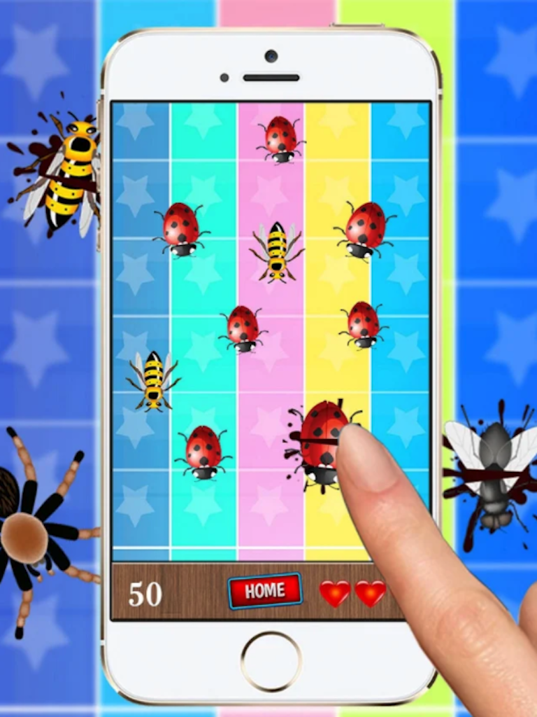 Insects Smasher - Best Kids Game Like Ant Smasher - Ready For Publush