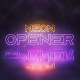 Neon Logo Opener - VideoHive Item for Sale