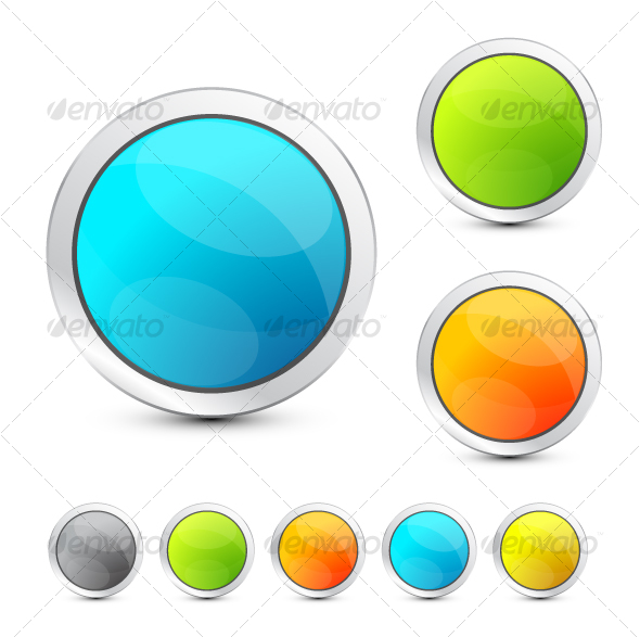 Colored buttons - Decorative Symbols Decorative