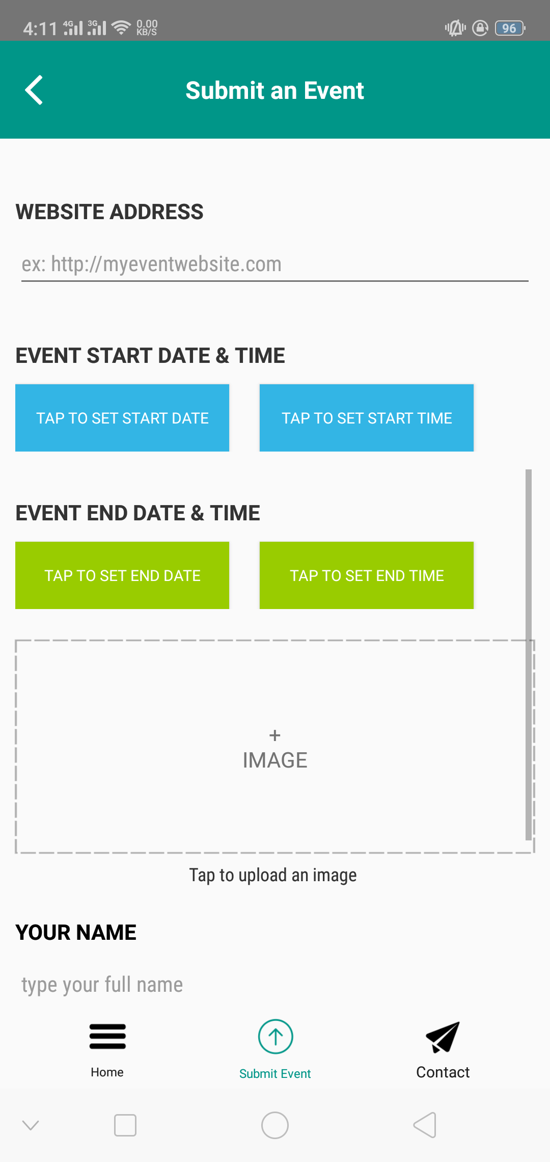 Events   Android Universal Events App Template