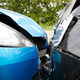 Close Up Of Two Cars Damaged In Road Traffic Accident - PhotoDune Item for Sale