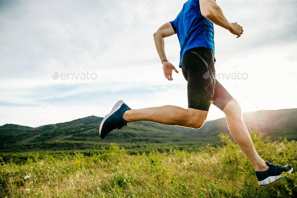 athlete runner run - Stock Photo - Images
