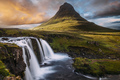 Kirkjufellsfoss Waterfall in Iceland - PhotoDune Item for Sale