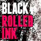 12 Black Rolled Ink Textures