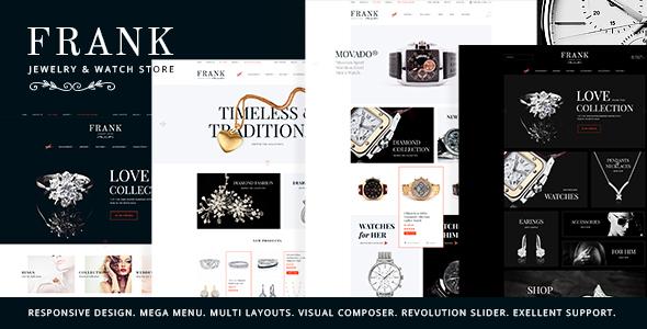 Jewelry & Watches Online Store WordPress Theme