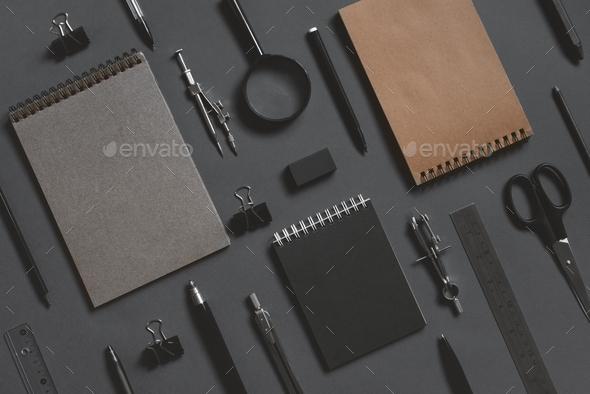 Education Black Background - Stock Photo - Images