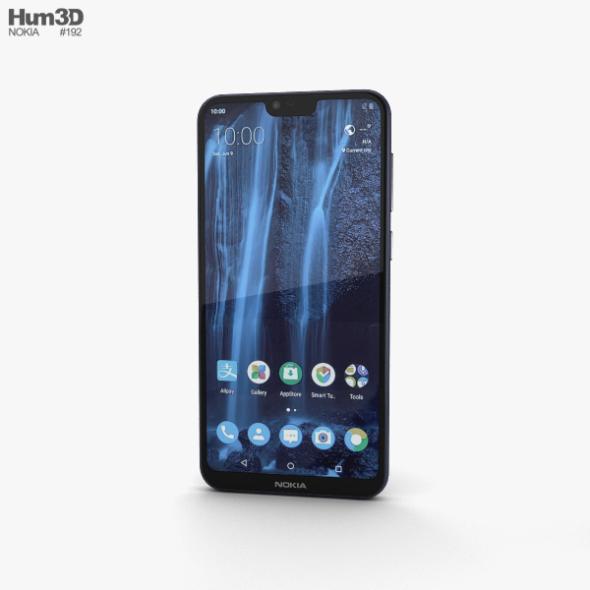 Nokia X6 Blue