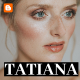 Free Download Tatiana - a Multi-Purpose Blog Template For Blogger Nulled