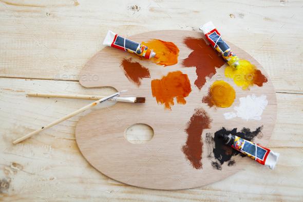 Paint Brush - Stock Photo - Images