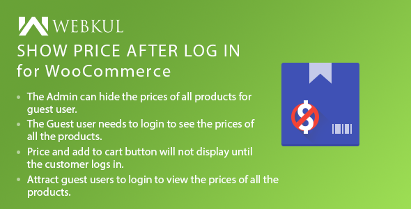 Show Price After Login Plugin for WooCommerce