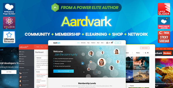 Aardvark WordPress Theme