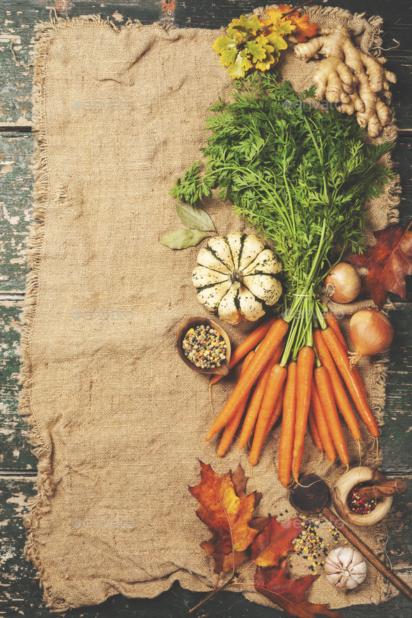 Healthy food cooking background - Stock Photo - Images
