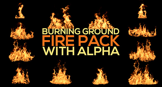 Burning Ground Fire Single Clips