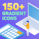 Isometric Gradient Icons - VideoHive Item for Sale