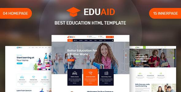 Eduaid - Education HTML5 Template