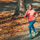 Woman Jogging Outdoors in Park - PhotoDune Item for Sale