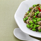 xue cai mao dou, stir fried edamame and snow vegetables, chinese cuisine - PhotoDune Item for Sale