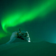 Aurora borealis above the Norway Finland border - PhotoDune Item for Sale