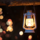 Old fire lit kerosene lamp - PhotoDune Item for Sale