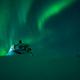 Aurora borealis above the Norway Finland border - PhotoDune Item for Sale